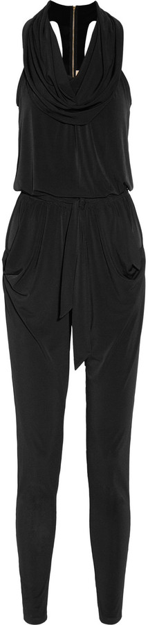MICHAEL Michael Kors Stretch-crepe jersey jumpsuit