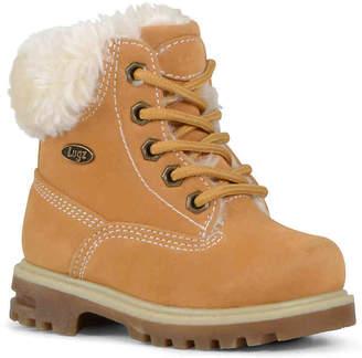 Lugz Empire Hi Fur Toddler Boot - Girl's