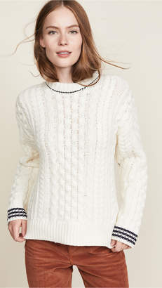 Rag & Bone Brighton Aran Sweater
