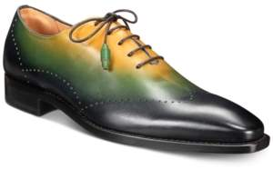 Mezlan Men's Tri-Tone Wingtip Oxfords Men's Shoes