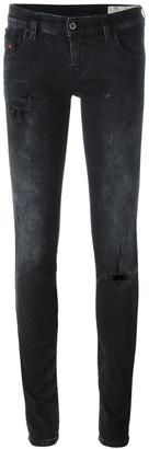 Diesel stretch skinny jeans $163.74 thestylecure.com