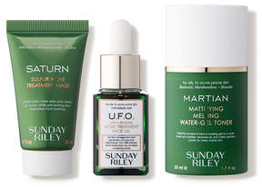 Sunday Riley Space Race Fight Acne Oil Pores at Warp Speed Kit
