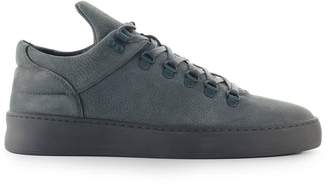 Filling Pieces Cairos Dark Grey Suede Sneaker