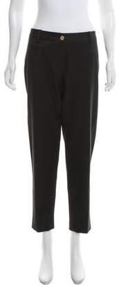 Dolce & Gabbana Mid-Rise Straight-Leg Pants