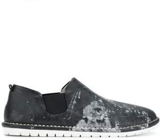 Marsèll paint splatter loafers