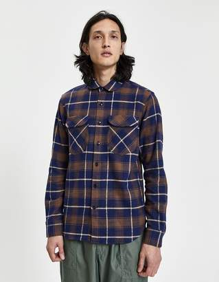 Rogue Territory Rancher Button-Up Shirt in Brown
