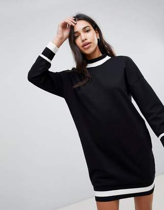 Esprit Color Block Edge Sweat Dress