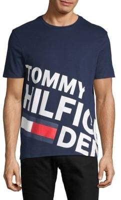 Tommy Hilfiger Printed Cotton Tee