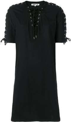 McQ lace-up detail dress