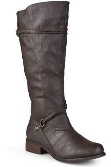 f8617185a5d4 Brinley Co. Womens Wide-Calf Knee-High Riding Boot