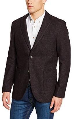 Cortefiel Men's C2E LANA MARSALA Suit Jacket,(Manufacturer Size: 56)