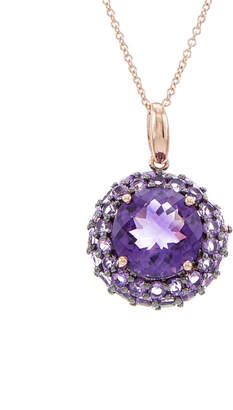 Effy Fine Jewelry 14K Rose Gold 4.41 Ct. Tw. Amethyst Necklace