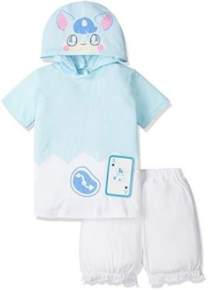 Bandai (バンダイ) - (バンダイ)BANDAI 変身半袖パジャマかみさまみならいヒミツのここたま 2369285 サックス 100cm