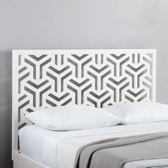 west elm Lattice Headboard
