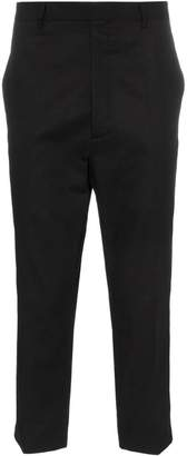 Rick Owens Rip Stop cropped trousers
