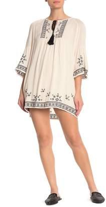 Heartloom Karisa Embroidered High/Low Dress