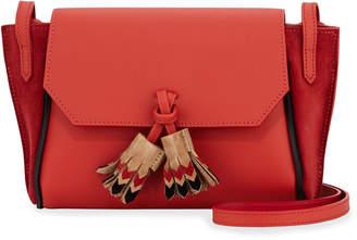 Longchamp Penelope Massai Leather Crossbody Bag