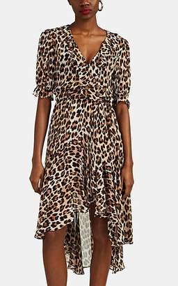 Icons Women's Cha Cha Leopard-Print Chiffon High-Low Dress