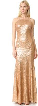 Theia Jessica Sleeveless Mermaid Gown $290 thestylecure.com