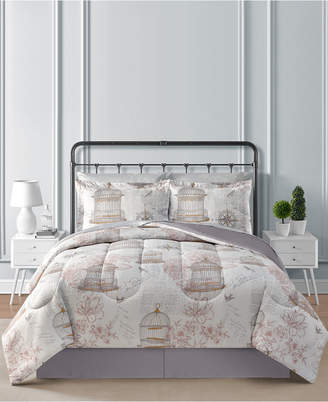 Fairfield Square Collection Birdcage 6-Pc. Twin Comforter Set Bedding