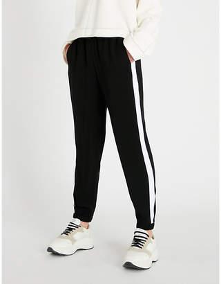 MICHAEL Michael Kors Side stripe crepe trousers