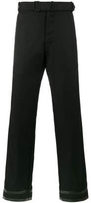 MACKINTOSH 0001 rubber cuff Lora Piana trousers