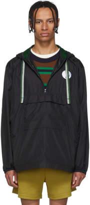 Acne Studios Black Osaze Anorak Jacket