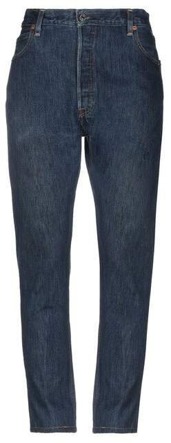 RE/DONE by Denim trousers