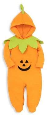 Kissy Kissy Baby's Halloween Pumpkin Hooded Footie