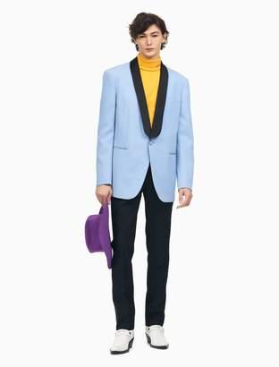 Calvin Klein straight leg tuxedo pants