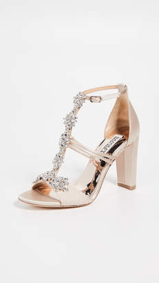 Badgley Mischka Laney T-Strap Sandals