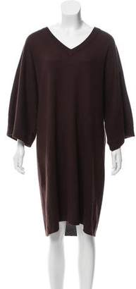 Twelfth Street By Cynthia Vincent Silk-Blend Knee-Length Dress