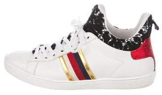 Gucci New Ace High-Top Lace Sneakers