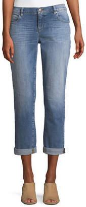 Eileen Fisher Organic Cotton Stretch Denim Boyfriend Jeans