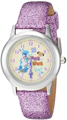 Disney Girl's 'Doc McStuffins' Quartz Stainless Steel Casual Watch
