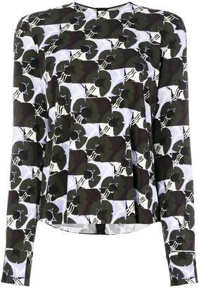 Marni abstract print blouse
