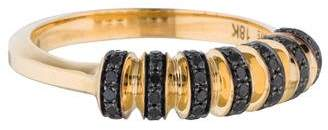 Black Diamond Melissa Kaye 18K Ring