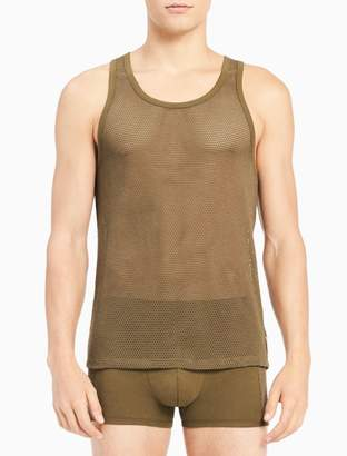 Calvin Klein body mesh tank top