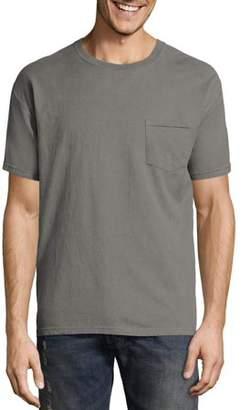 Hanes Big Men's ComfortWash Garment Dyed Short Sleeve Pocket Tee