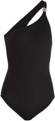 Melissa Odabash Seychelles one-shoulder swimsuit