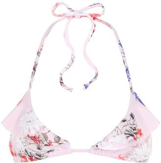 Nicholas Floral Triangle Bikini Top