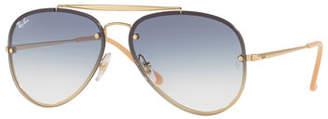 Ray-Ban Brow Bar Aviator Sunglasses