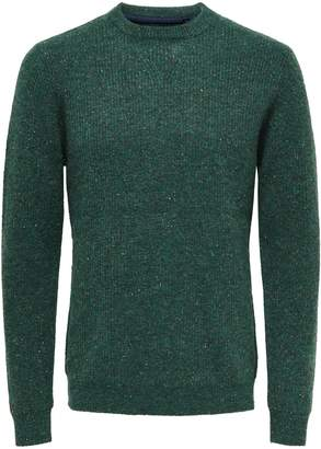 ONLY & SONS Long-Sleeve Crew Neck Sweater
