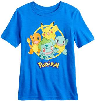 cffcde8510 Pokemon Boys 4-12 Jumping Beans & Friends Graphic Tee