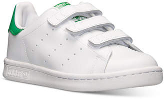 adidas Little Boys' Originals Stan Smith Casual Sneakers from Finish Line $54.99 thestylecure.com