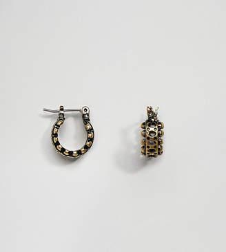 Reclaimed Vintage Inspired Gold Hoop Earring Exclusive To ASOS