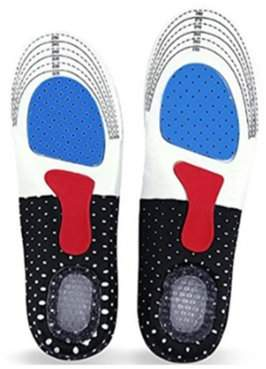 Homax Men's Arch Support Full-Length Orthotics Insoles for Heel Pain Relief, Walking, Running and Hiking