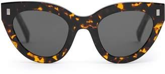 00c518c77b Reiss Neko - Monokel Eyewear Acetate Sunglasses in Tortoiseshell