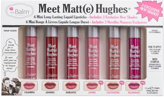 TheBalm Meet Matte Hughes Mini Liquid Lipstick Set Vol. 3