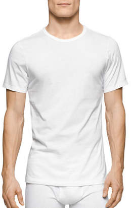 Calvin Klein Three-Pack Slim-Fit Crew Neck T-Shirts